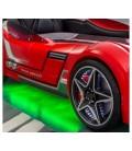 Кровать машина GTS(без матраса), (90х100),красная недорого