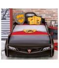 Кровать машина COUPE (без матраса), матрас 90х190см, черная купить в интернет-магазине