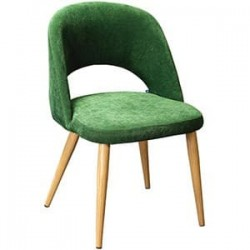Кресло Lars на металлокаркасе Сканди Грин/Натур