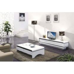 ТВ-тумба 3D Modo Duo, с 2 ящиками, 135 на 45 см