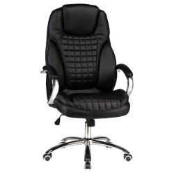 Офисное кресло для руководителей DOBRIN CHESTER LMR-114B, черное