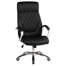 Офисное кресло для руководителей DOBRIN BENJAMIN LMR-117B, черное