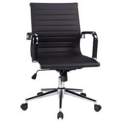 Офисное кресло для руководителей DOBRIN CLAYTON LMR-118B, черный