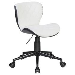 Офисное кресло для персонала DOBRIN RORY LM-9700 (бело-чёрный)