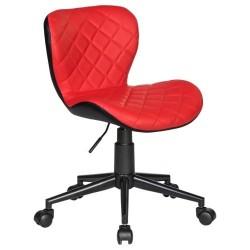 Офисное кресло для персонала DOBRIN RORY LM-9700 (красно-чёрный)