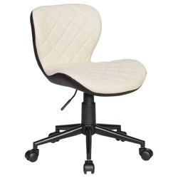 Офисное кресло для персонала DOBRIN RORY LM-9700 (кремово-коричневый)