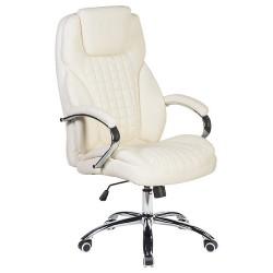 Офисное кресло для руководителей DOBRIN CHESTER LMR-114B, кремовое