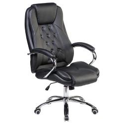 Офисное кресло для руководителей DOBRIN MILLARD LMR-116B, черное