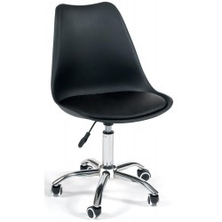 Офисное кресло TULIP (mod.106) черное