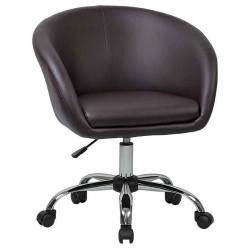 Офисное кресло для персонала DOBRIN BOBBY LM-9500 коричневое