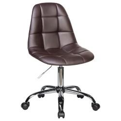 Офисное кресло для персонала DOBRIN MONTY LM-9800 коричневое