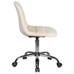 Офисное кресло для персонала DOBRIN MONTY LM-9800 кремовое
