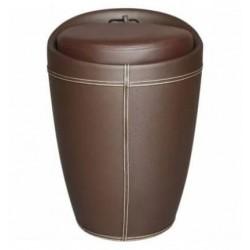 Табурет LM-1100 HPVC с местом для хранения, коричневый