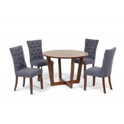Комплект обеденный (стол BORNEO, арт. LWM(CF)11115(X8)32 + 4 кресла, арт. LW1509)