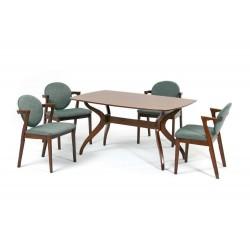 Комплект обеденный (стол PINANG, арт. LWM(PR)15908K + 4 кресла MUAR, арт. LW1801 beno 239-12)