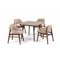 Комплект обеденный (стол TERONG, арт. LWM(TR)10108HLV32 + 4 кресла LANGKAWI, арт. LW2001)