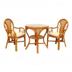 Комплект обеденный LaMokko L (стол + 2 стула)