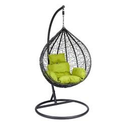 Подвесное кресло Z-03 (B) (цвет black, подушка green)
