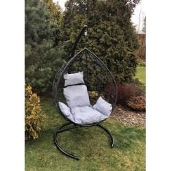 Подвесное кресло Z-03 (A) (цвет black, подушка серый)