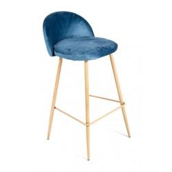 Барный стул Vivian синий