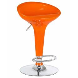 Барный стул LM-1004 оранжевый
