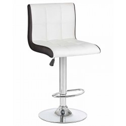 Барный стул LM-5006, бело-черный