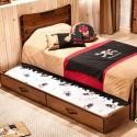 BLACK PIRATE выдвижная кровать (90х190) к кроватям 20.13.1302.00 и 20.13.1401.00 купить