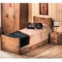 BLACK PIRATE Кровать 100х200 недорого