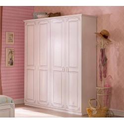 Четырехдверный шкаф Cilek Selena