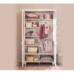 Двухстворчатый шкаф Cilek Romantic