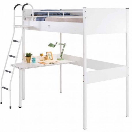 Кровать чердак Cilek Compact White