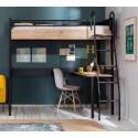 Кровать чердак Cilek Compact Black купить в интернет-магазине
