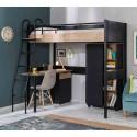 Кровать чердак Cilek Compact Black недорого