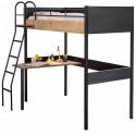 Кровать чердак Cilek Compact Black купить с доставкой