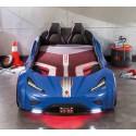 Кровать машина Cilek GTS синяя купить в интернет-магазине