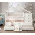 Кровать трансформер Romantic 131 на 80/177 на 80 см купить