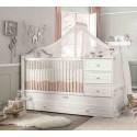 Кровать трансформер Romantic 131 на 80/177 на 80 см купить с доставкой