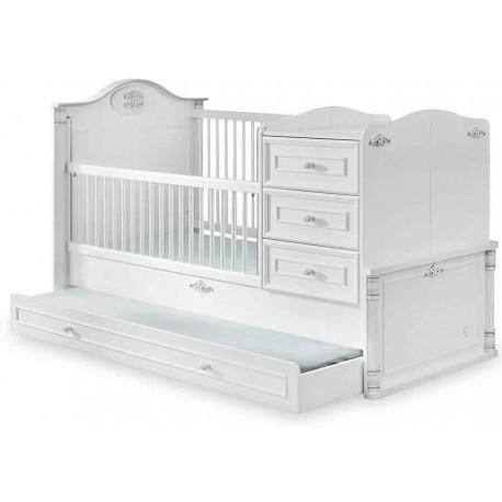 Кровать трансформер Romantic 131 на 80/177 на 80 см