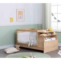 Кровать с полками Mocha Baby 110 на 70/140 на 70 см