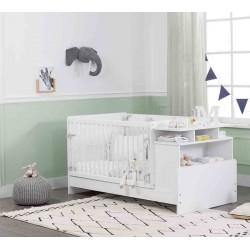 Кровать с полками Baby Cotton 110 на 70/140 на 70 см