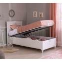 Кровать Cilek Romantica с подъемным механизмом 200 на 120 см купить