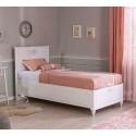 Кровать Cilek Romantica с подъемным механизмом 200 на 120 см купить в интернет-магазине