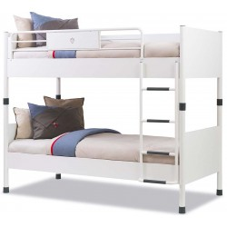 Двухъярусная кровать Cilek White 200 на 90 см