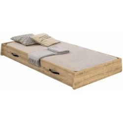 Выдвижная кровать Cilek Wood Metal 90х190