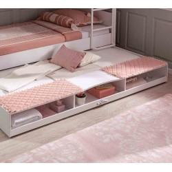 Выдвижное спальное место полками Cilek Romantic 190 на 90 см