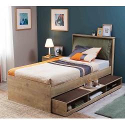 Выдвижное спальное место CilekMocha с полочками 190 на 90 см