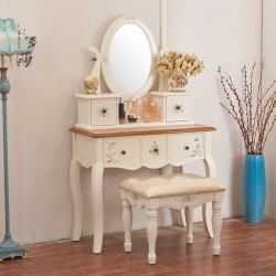 Макияжный столик Fleur chantante, Белый