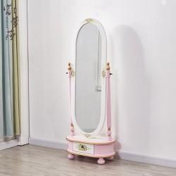 Напольное зеркало Fleur chantante, Розовое