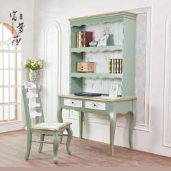 Письменный стол с надстройкой, Зеленый