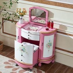 Туалетный столик-комод Fleur chantante, Розовый